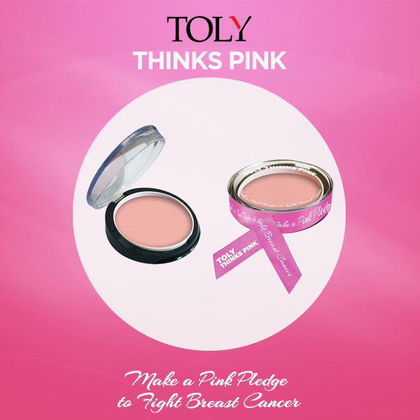 Toly Thinks Pink - Breast Cancer Awareness Campaign