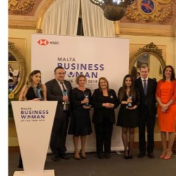 Amanda Xuereb wins Young Businesswoman of the Year