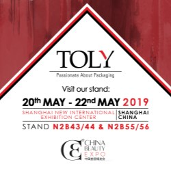Toly to exhibit at China Beauty Expo 2019