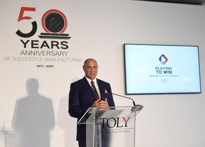 Prime Minister Visit at Toly to Celebrate 50 years of Manufacturing in Malta