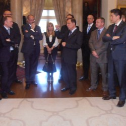 The President of Malta hosts the Sales Team